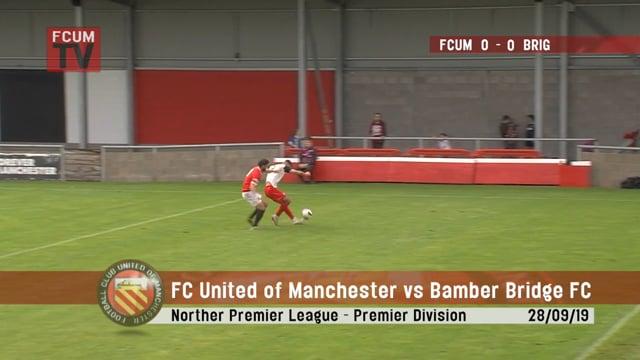 FC United vs Bamber Bridge - Highlights - 28-09-19