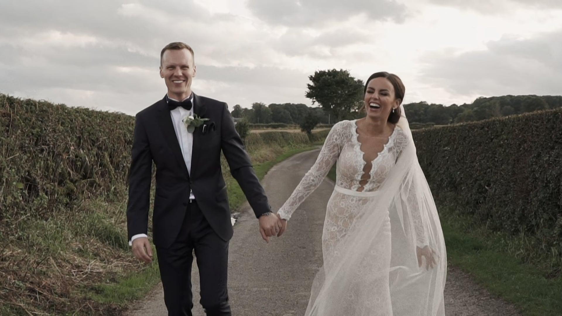Kate + Josh // Doxford Barns