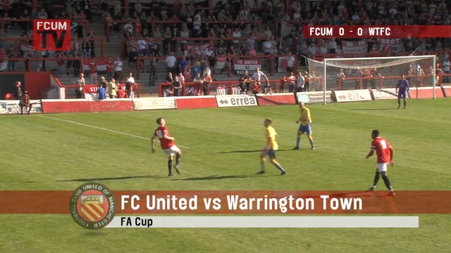 FCUM vs Warrington Town FC - Goals - 21-09-19