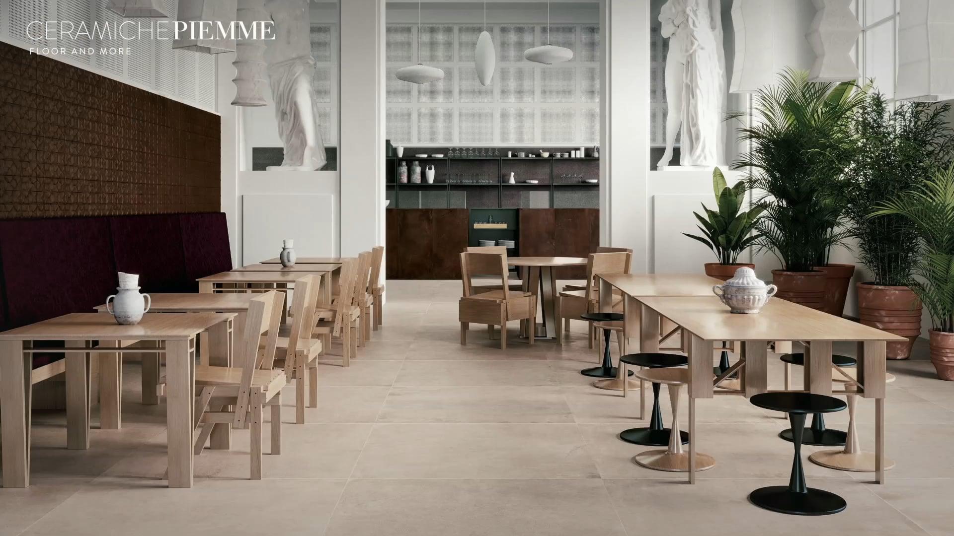 Коллекция Materia от Ceramiche Piemme: необычный эффект