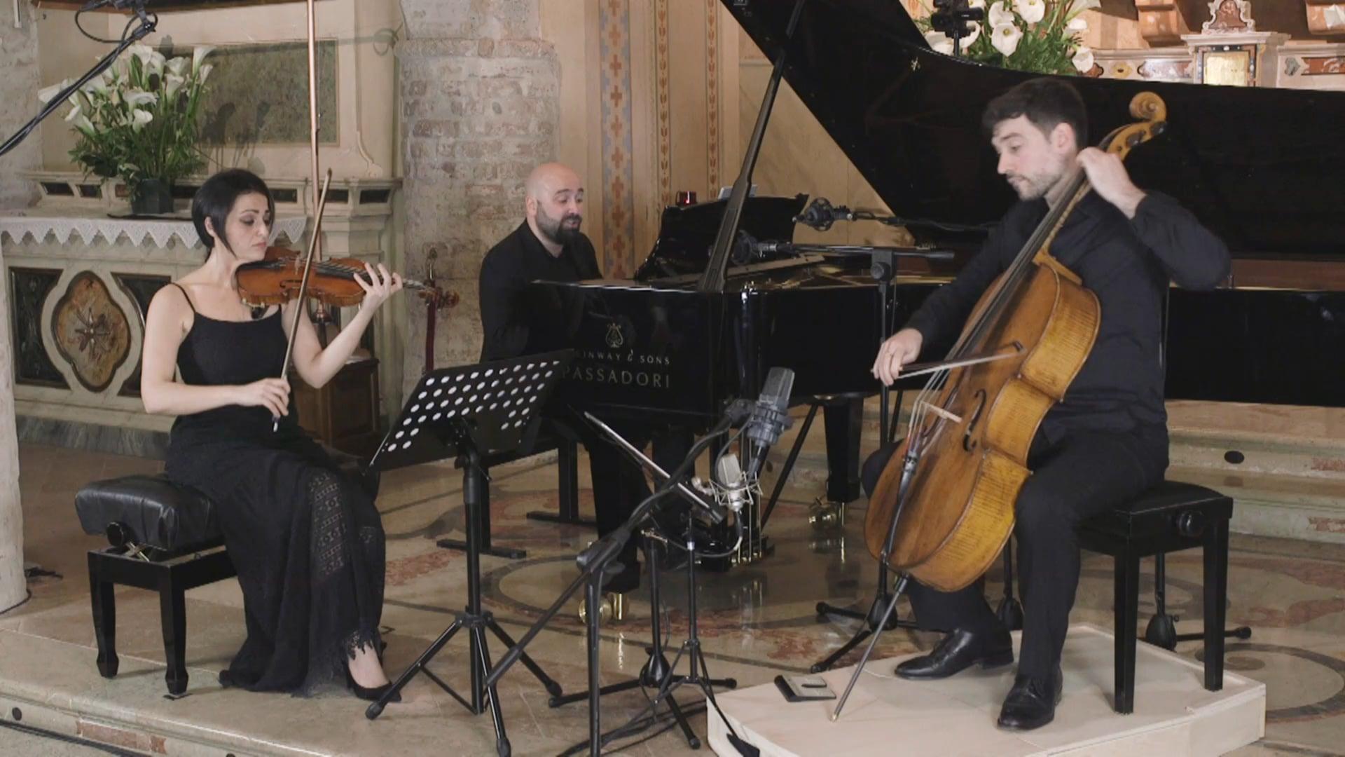 Tchaikovsky Piano Trio in A minor, Op. 50 - Alessandro Deljavan, piano; Daniela Cammarano, violin; Amedeo Cicchese, cello