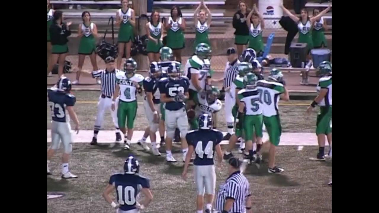 Varsity Football-2010-Game7-Lee