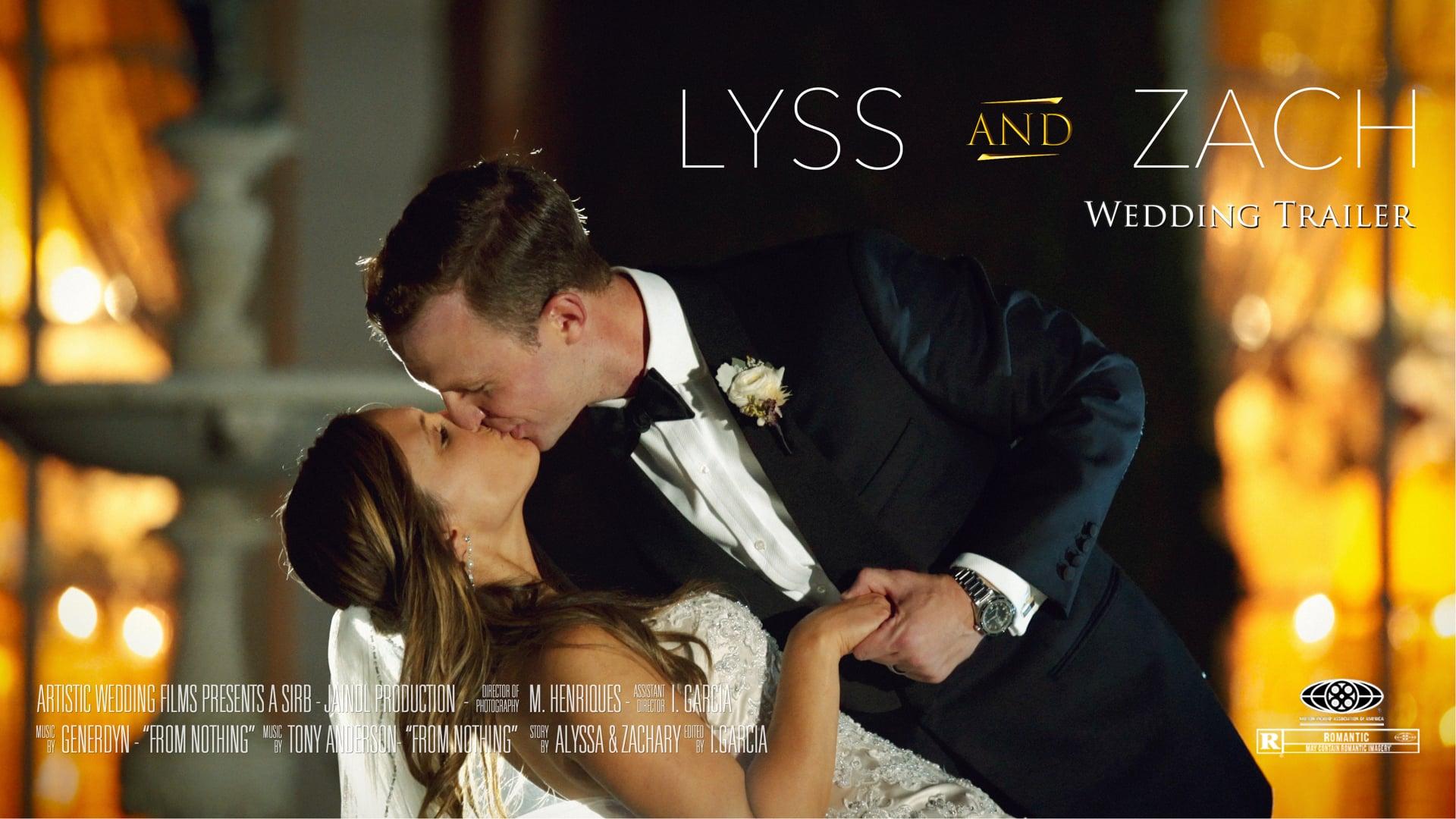Rosecliff Mansion Wedding // Lyss + Zach's Wedding Trailer // Elegant Newport Wedding