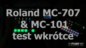 Roland MC707 LIVEACT 01