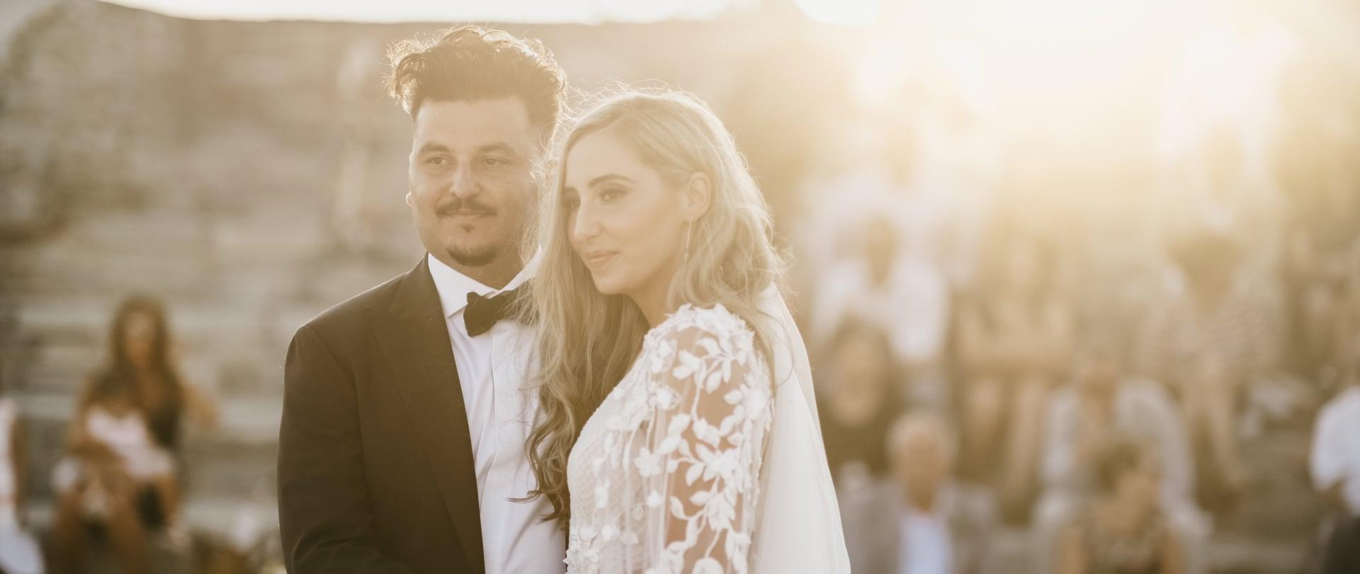 Natasha & Leon Wedding Video Filmed at Paros, Greece