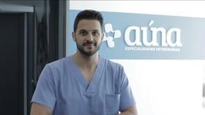 Preparación del cirujano en prequirófano