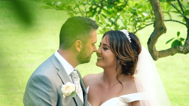 Cassie & Anthony's Hever Castle Wedding Highlights