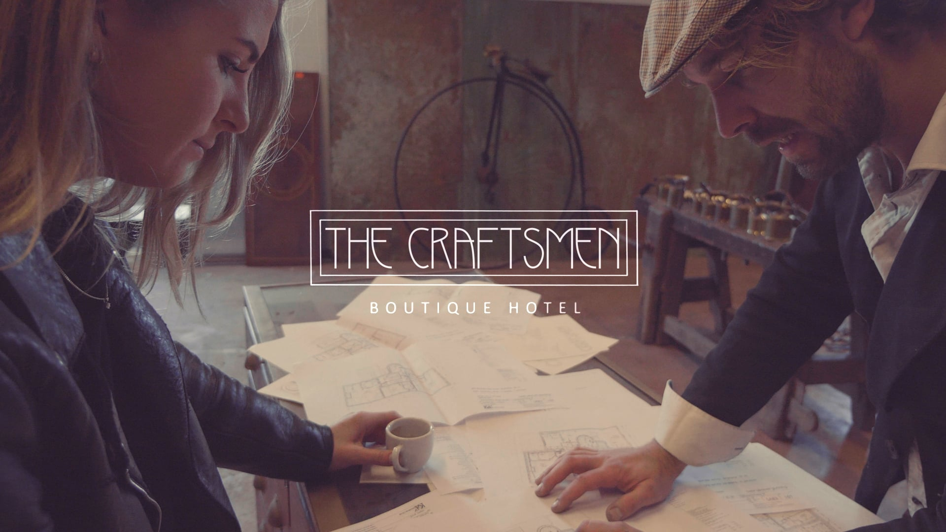 Sfeerfilm voor het Boutique Hotel The Craftsmen