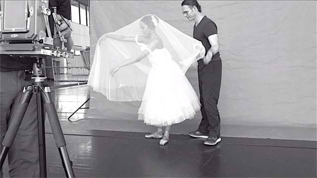 """""""Vintage Giselle"""" project - behind the scenes"""