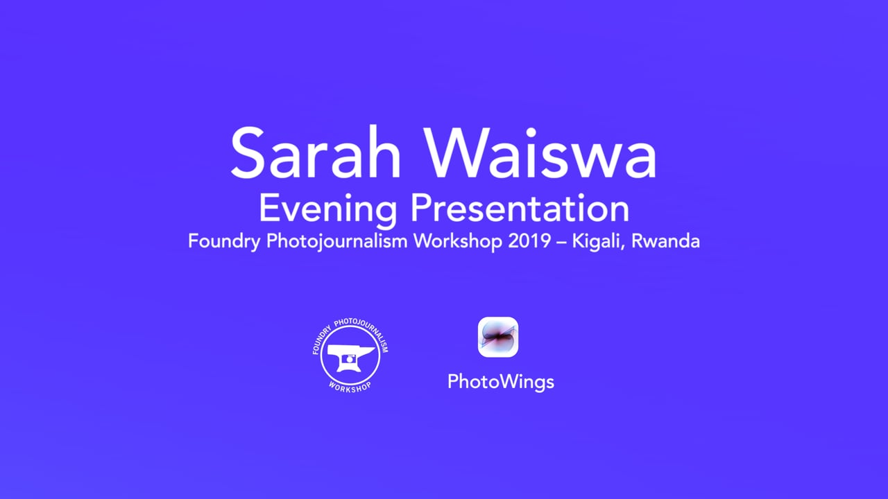 Sarah Waiswa Foundry Presentation