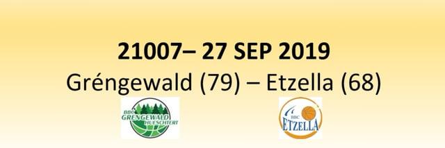 N1D 21007 Gréngewald Hueschtert (79) - Etzella Ettelbruck (68) 27/09/2019