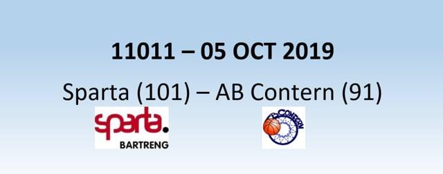 N1H 11011 Sparta Bertrange (101) - AB Contern (91) 05/10/2019