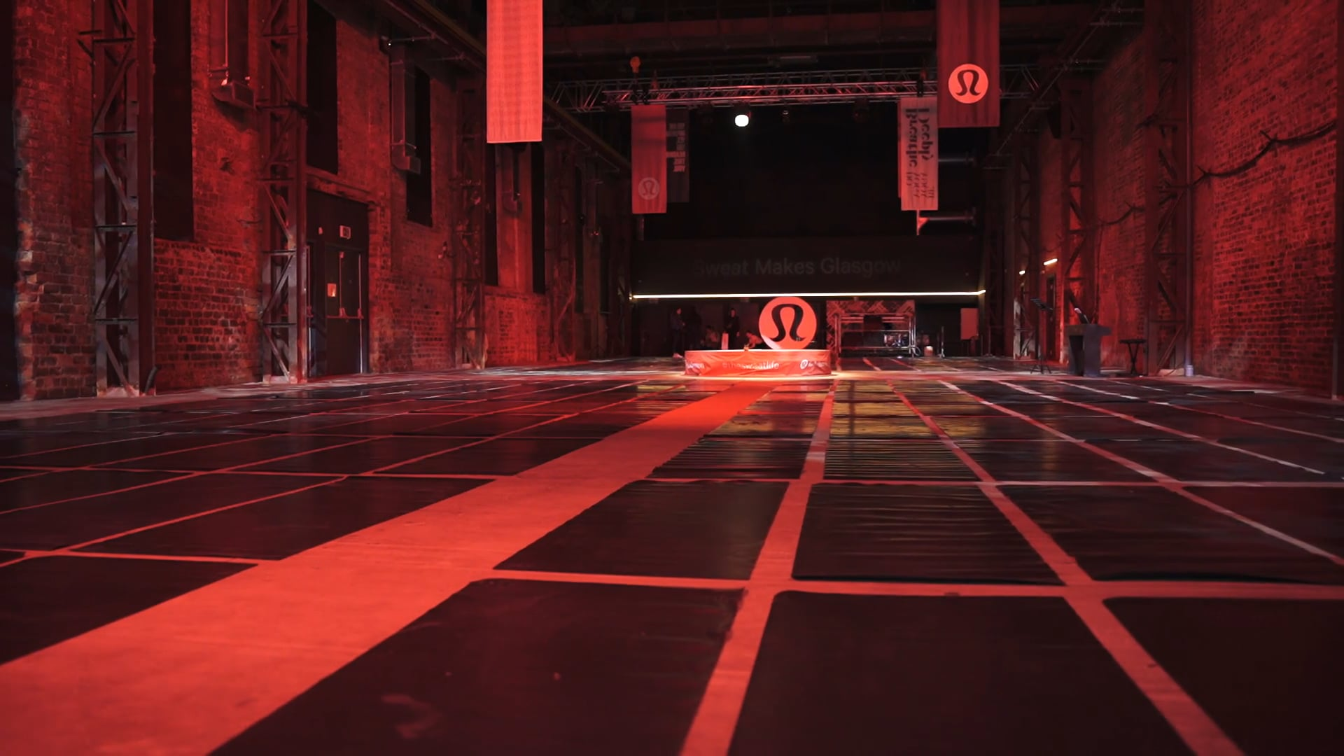 lululemon Opening Event Glasgow SWG3