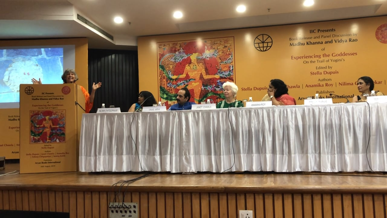 Experiencing the Goddess, Launching of the Book, IIC, Delhi