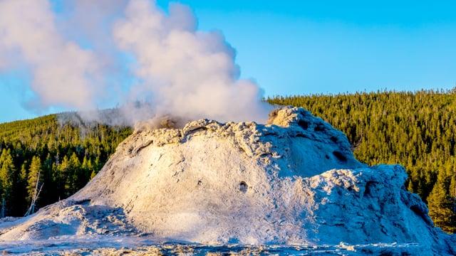 Boiling Geyser, Yellowstone National Park