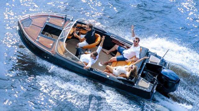 Подарочный набор «Адмирал», отдых на воде, подарочные сертификаты, видеопревью 3