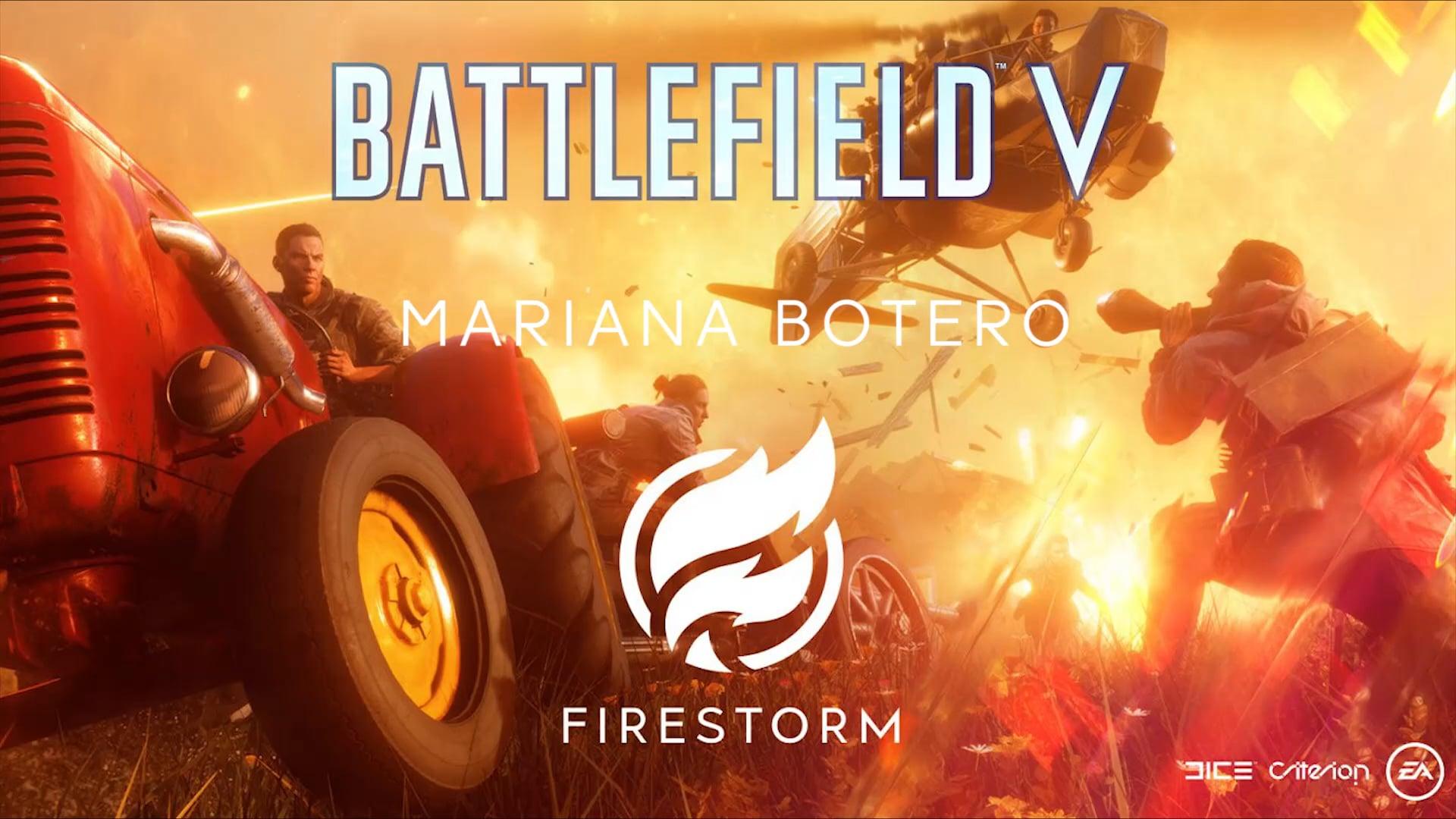 Battlefield 5 - Firestorm Sound Design Reel Mariana Botero