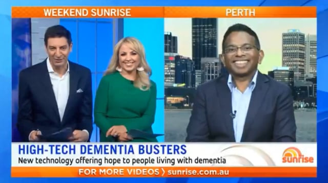 High-Tech Dementia Busters (Weekend Sunrise)