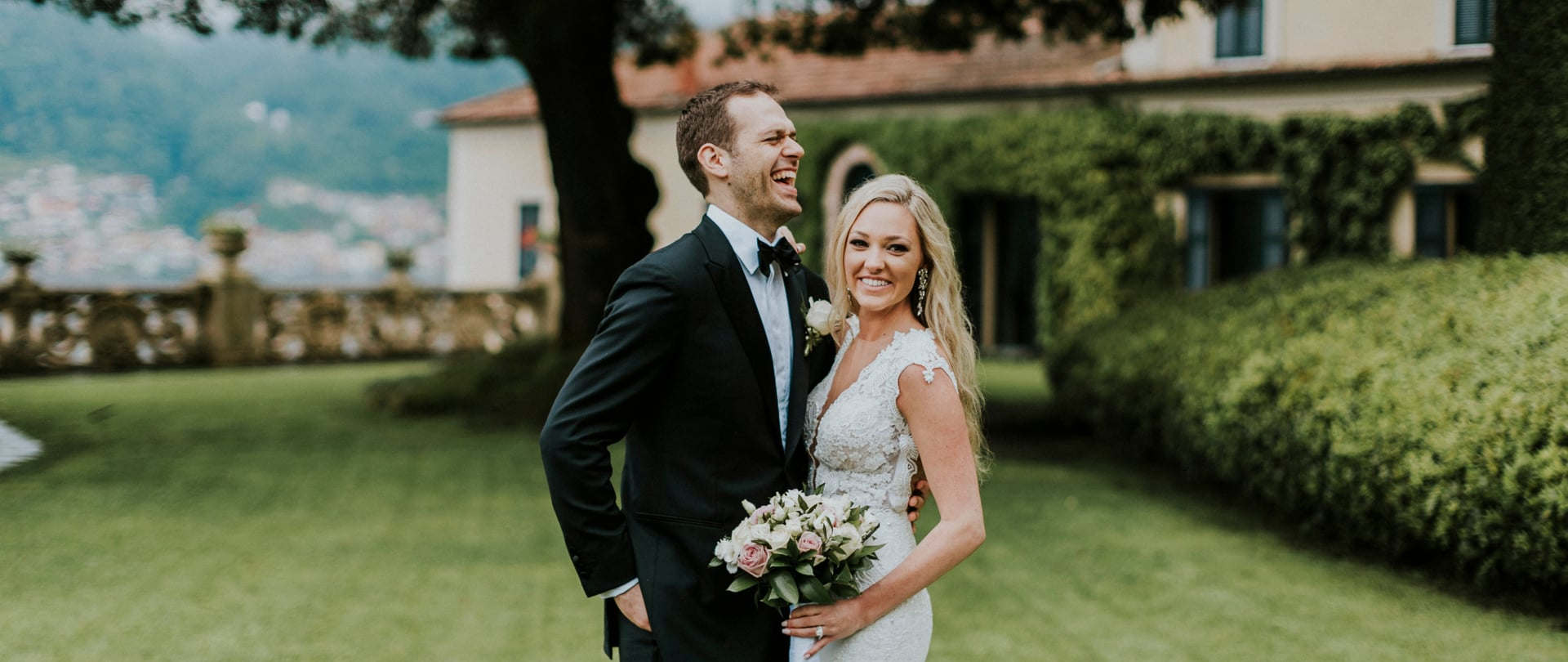 Sarah & Matthew Wedding Video Filmed at Lake Como, Italy