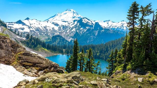 Mount Baker, Chain Lakes Trail