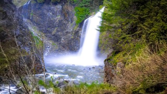 Franklin Falls in Washington State