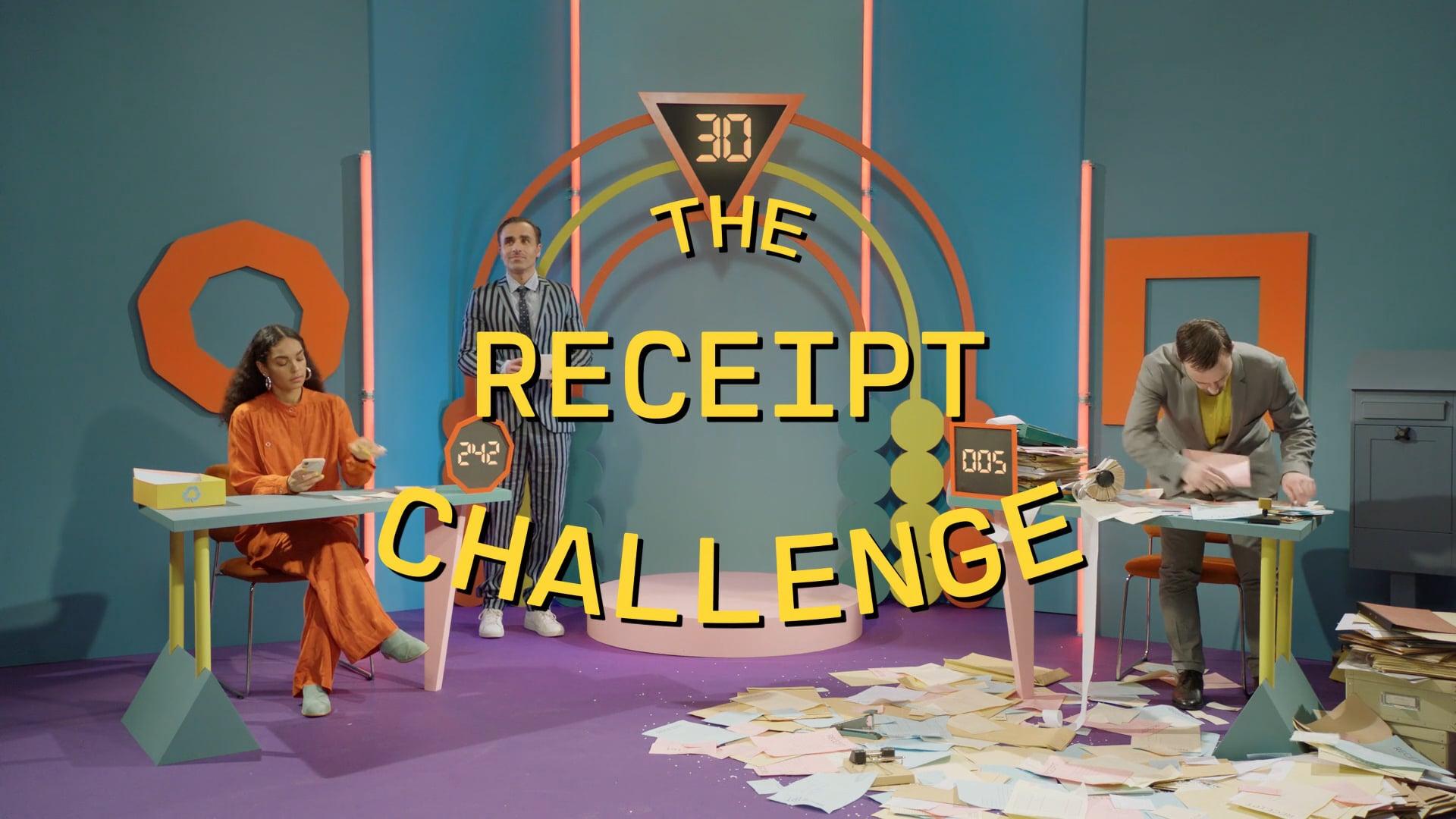 Holvi – The Receipt Challenge