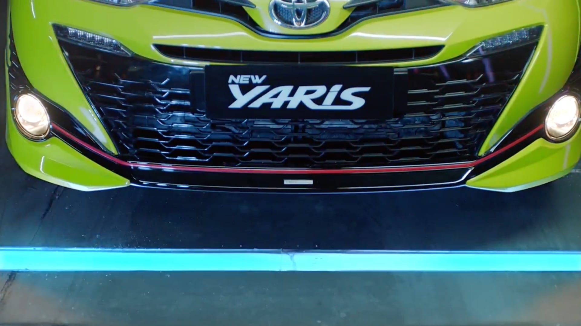 """Toyota Yaris   """"Powered by Excitement"""""""