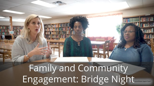 Family and Community Engagement: BRIDGE Night