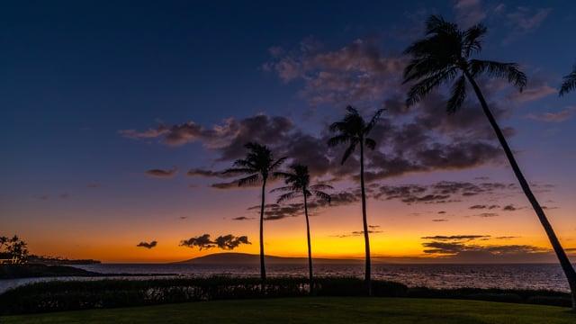 Sunset - Kapalua Bay, Maui, Hawaii