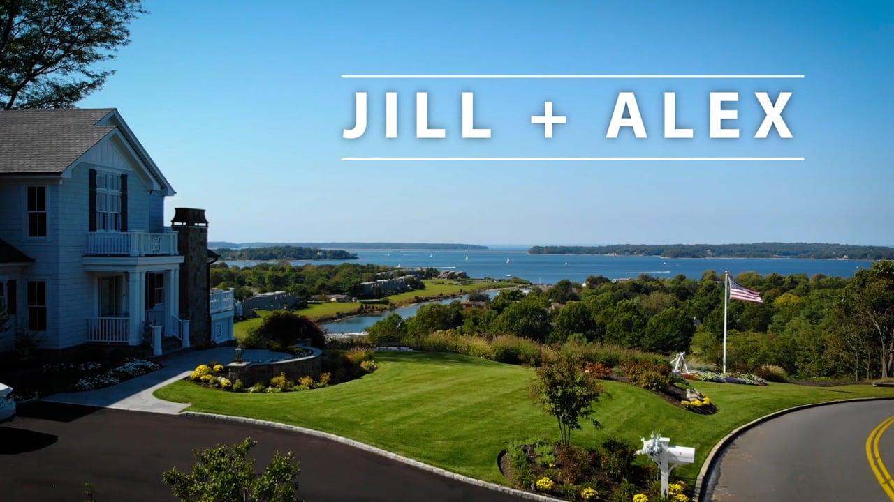 Jill + Alex ~ Wedding Highlight Film Northport, New York