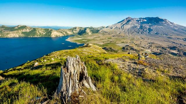 Harry's Ridge Trail, Mt. St. Helens - HDR