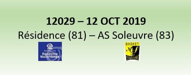 N2H 12029 Résidence Walferdange (81) - AS Soleuvre (83) 12/10/2019