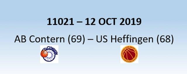 N1H 11021 AB Contern (69) - US Heffingen (68) 12/10/2019