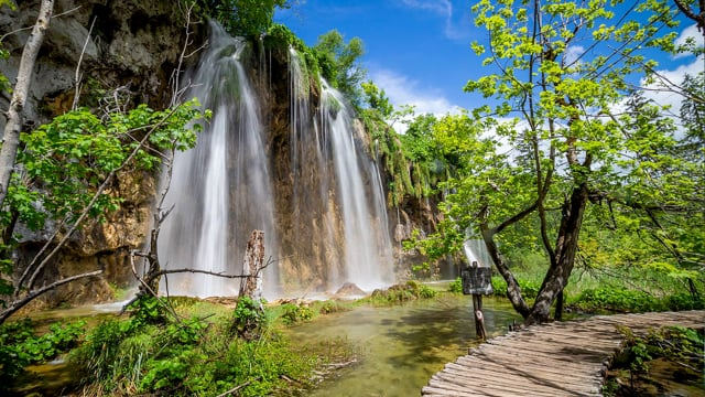 Waterfalls of Croatian National Parks. Part 3 HDR