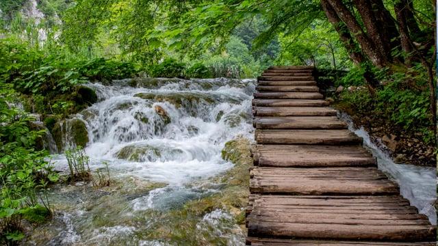 Waterfalls of Croatian National Parks, Croatia. Part 1 HDR