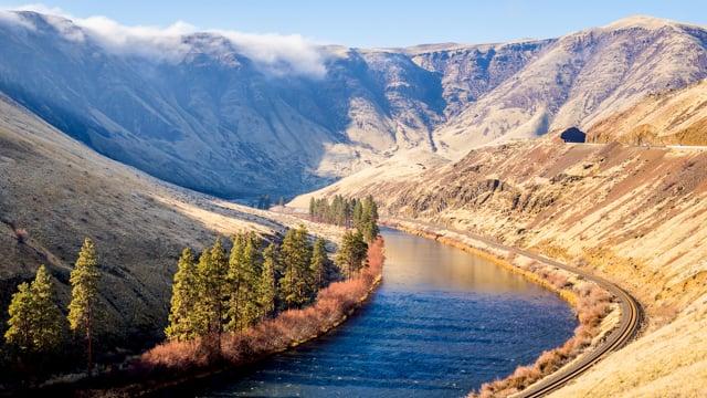 Yakima Canyon River, Eastern Washington