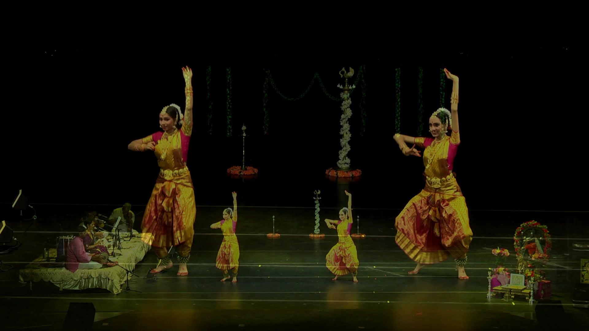 Divya & Meera 8-25-18- Arangetram Sample