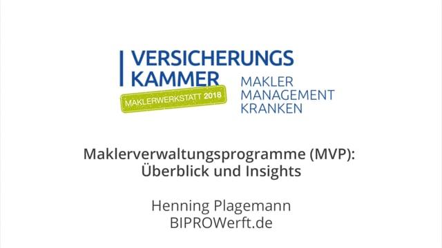 Henning Plagemann: Überblick und Insights zu Maklerverwaltungsprogrammen