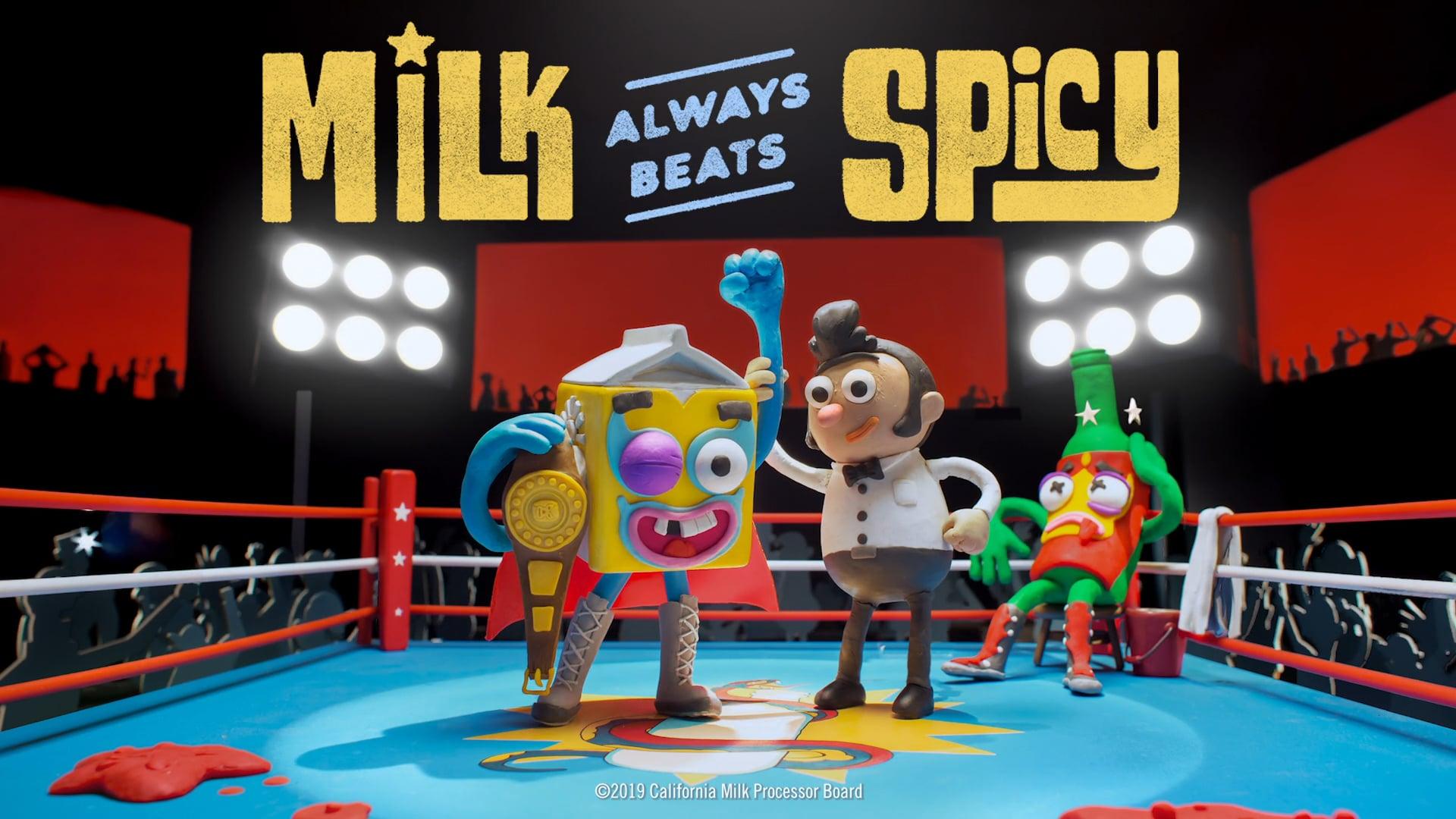 GOT MILK_ _ Milk Always Beats Spicy