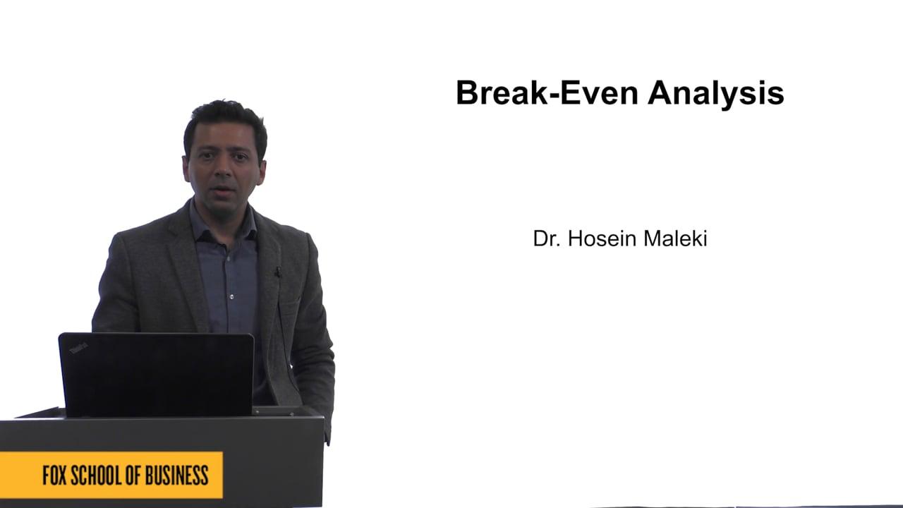 61619Break-Even Analysis