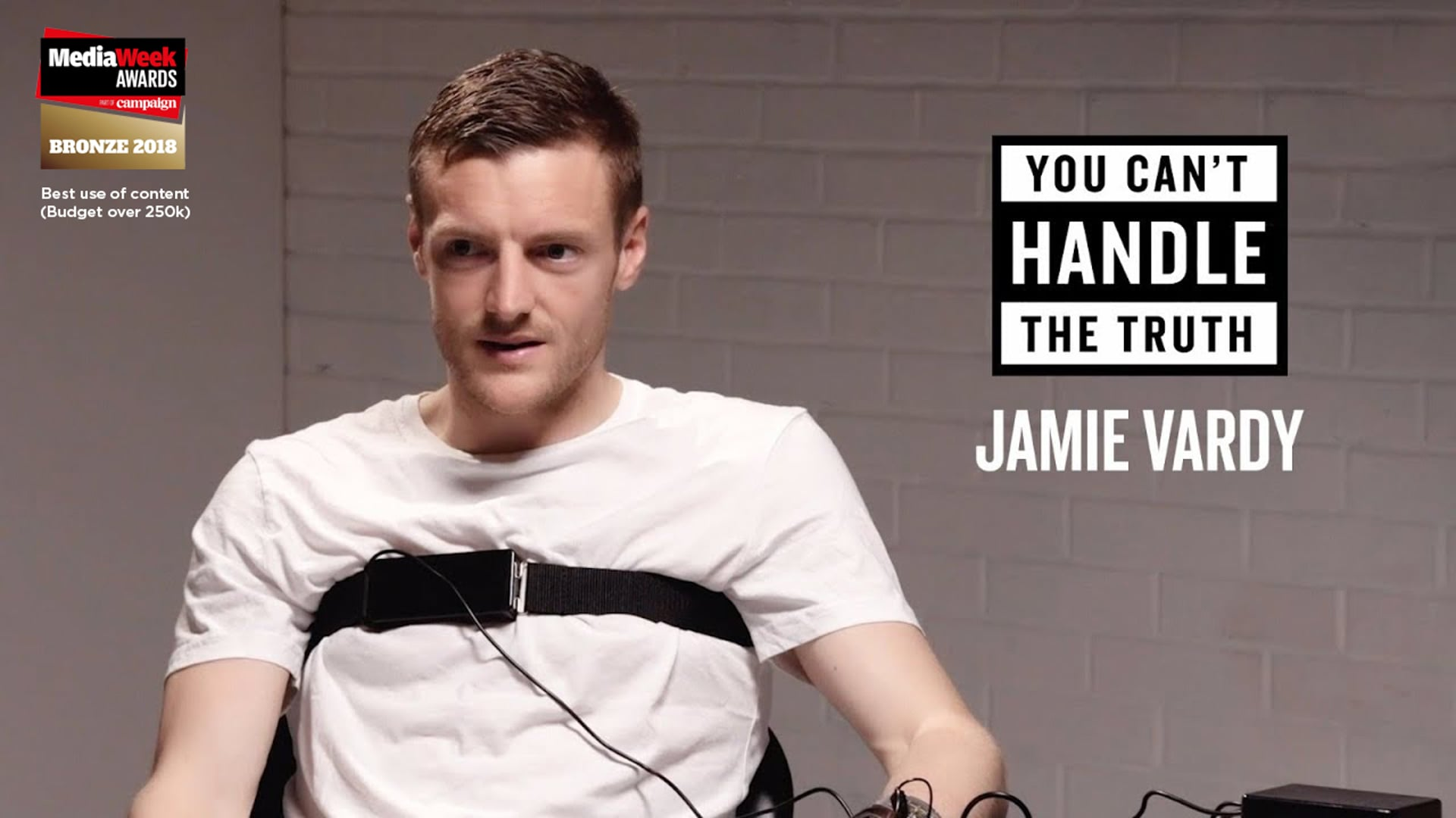 """""""You Can't Handle The Truth"""" with Jamie Vardy"""