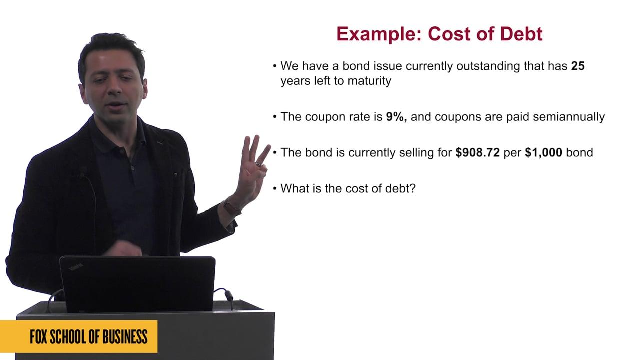 61622Cost of Capital III:  Cost of Debt