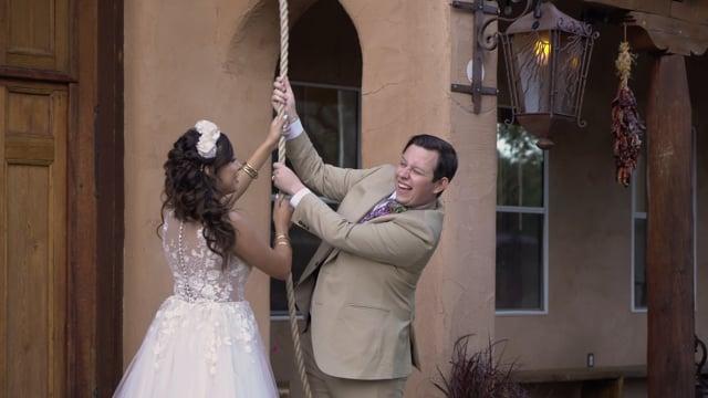 Vitoria + Matthew Wedding Highlights - 1stLook Teaser - Hacienda Dona Andrea, SantaFe NM - Oct 2019