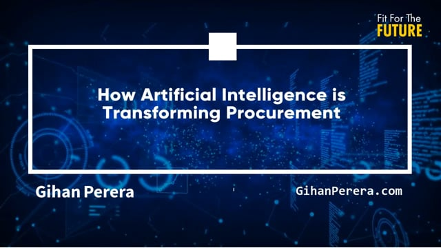 How Artificial Intelligence is Transforming Procurement
