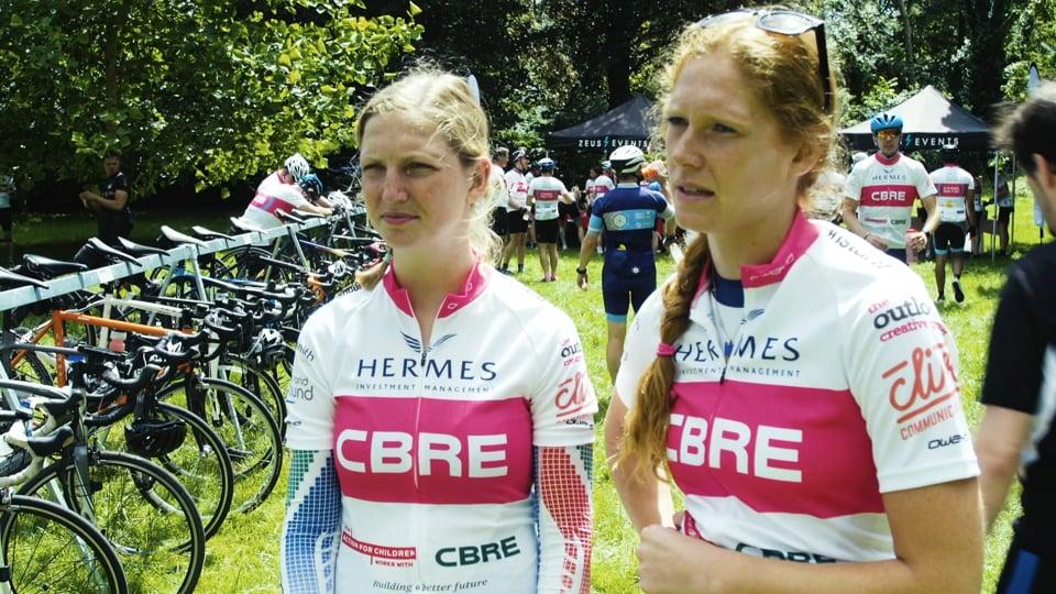 CBRE- Charity Bike Ride Video
