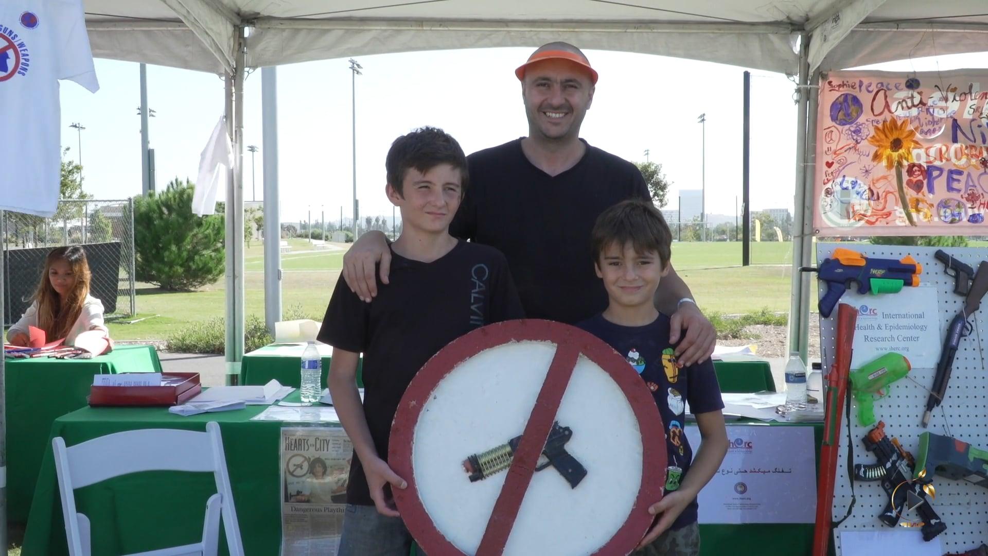 کمپین «مبارزه با خشونت و نه به اسلحه»