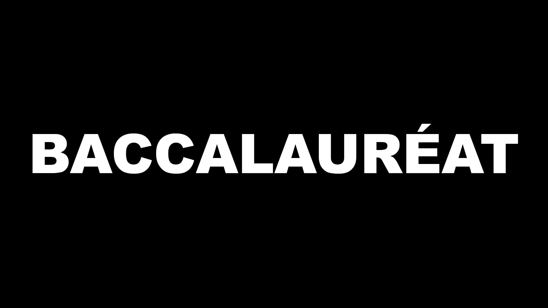 Baccalauréat (french film)