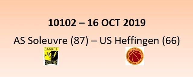 CUP 10102 AS Soleuvre (87) - US Heffingen (66) 16/10/2019