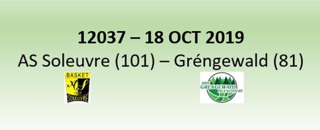 N2H 12037 AS Soleuvre (101) - Gréngewald Hueschtert (81) 18/10/2019