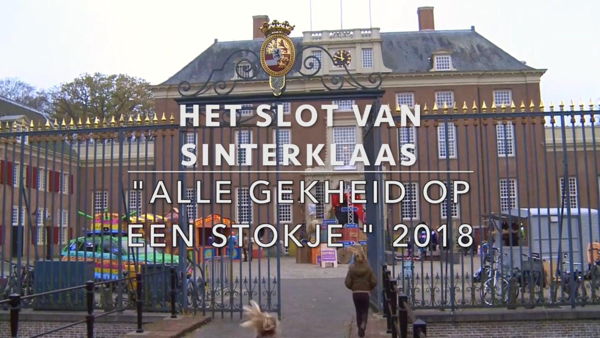 Slot van Sinterklaas jaarlijks het laatste weekend van november op Slot Zeist 2018